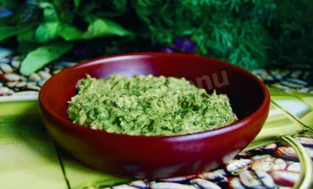 Зеленая аджика рецепт на зиму
