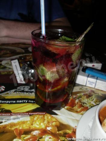 Гранатовый коктейль – кулинарный рецепт