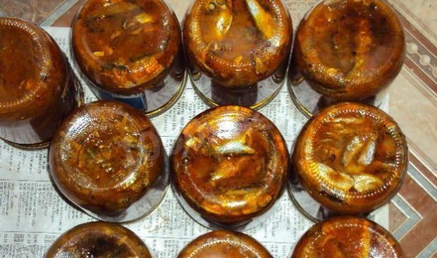 Килька в томатном соусе в домашних условиях рецепт пошагово с