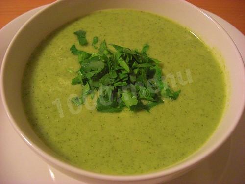Рецепт супа с брокколи с фото для детей
