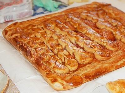 Рецепт пирога с калиной