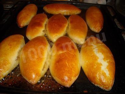 пирожки с конфитюром фото