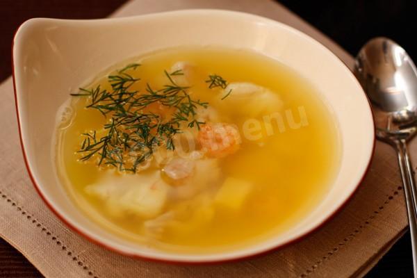 Суп из креветок детям рецепт