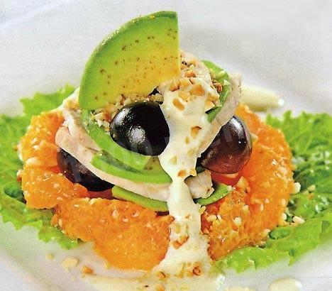 салат из авокадо курицы рецепты