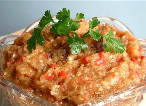 салат на из баклажанов и моркови на зиму рецепты