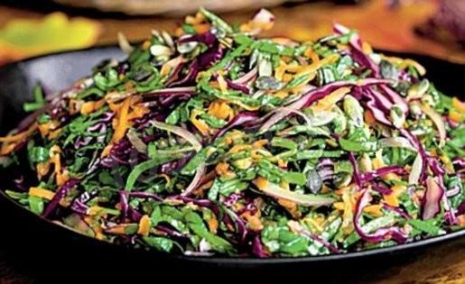 фиолетовая капуста рецепты салатов