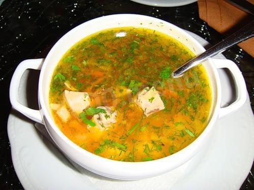 рецепт супа уха