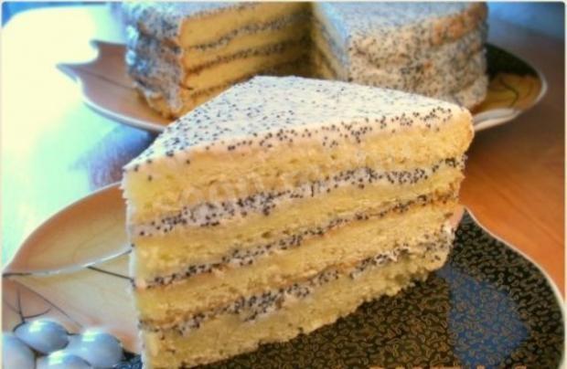 сметанный торт рецепт c