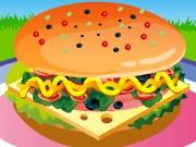 Оформление собственно сконструированного сэндвича, который в игре называется Дели. Сэндвич Дели состоит из многих слоев: между двумя кусочками хлеба располагаются всевозможные вкусности, которые можно выбирать из целого списка. Поэтому можно приготовить свой сэндвич, не похожий на другие.