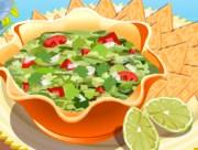 Тебе знакомо знаменитое блюдо мексиканской кухни под названиемГуакамоле? Если нет, то у тебя есть шанс научиться его готовить. Это очень вкусный соус, приготовляемый из мякоти авокадо. В игре - поэтапный процесс его приготовления.
