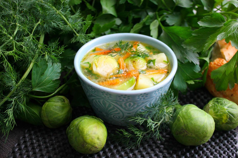 достали суп из брюссельской капусты рецепты с фото русские местная