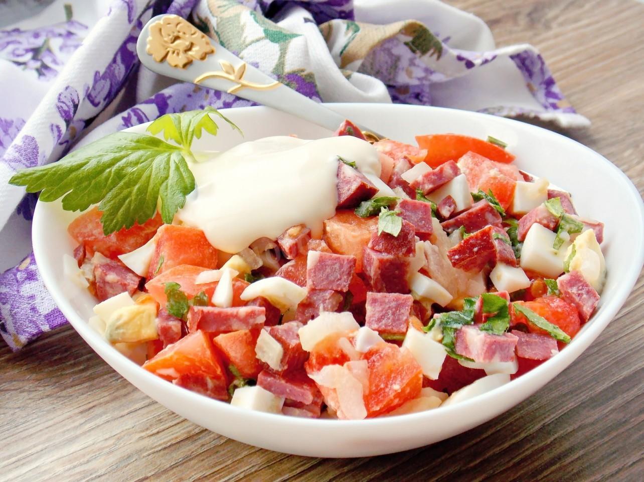 салат сытный рецепт с фото время