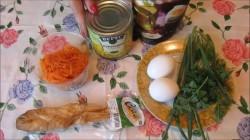 Салат из капусты, копченой корейки и сыра - рецепт пошаговый с фото
