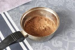 Пирог Вулкан с заварным кремом - рецепт пошаговый с фото