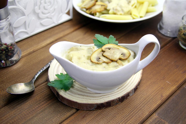 Грибной соус. Соус с грибами