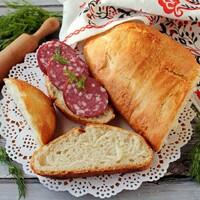 Хлеб в рукаве для запекания