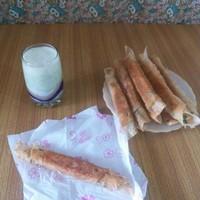 Закусочные рулеты из лаваша