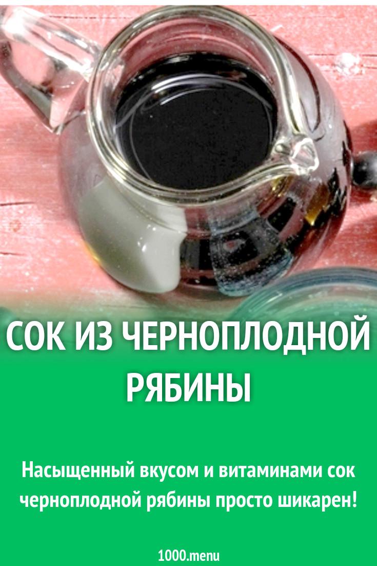 Как сделать сок из рябины фото 139