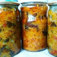 рецепты острых салатов на зиму домашняя заготовка