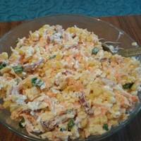 Салат Быстрый копченая колбаса сыр