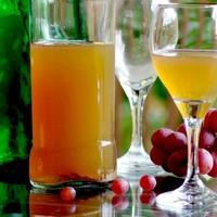 Домашнее белое вино из винограда
