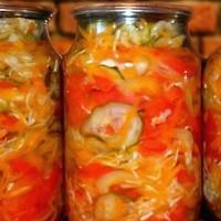 заготовки на зиму рецепты с фото салаты