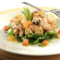 Морепродукты с авокадо