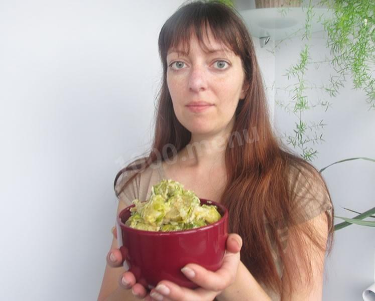 салаты из брокколи и цветной капусты рецепты с фото