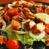 Салат из крабового мяса консервированного