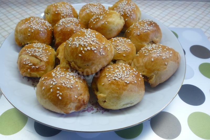 домашний булочки рецепт с фото пошагово в духовке