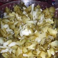 Простой салат Пятиминутка