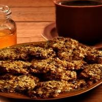 Лёгкое диетическое печенье из овсянки на кефире