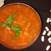 Бараний суп с фасолью по-грузински