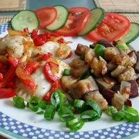 Баклажаны жареные со вкусом грибов