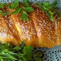 Хлебные батоны домашние