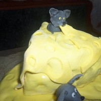 Торт Сыр с мышками