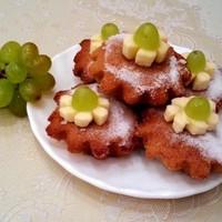 Полезные овсяно-банановые кексики