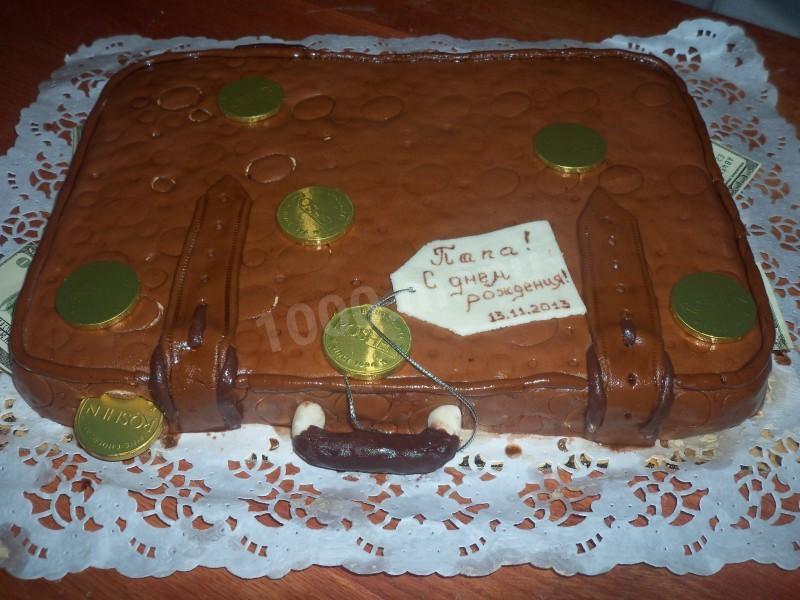 торт кейс с деньгами пошагово