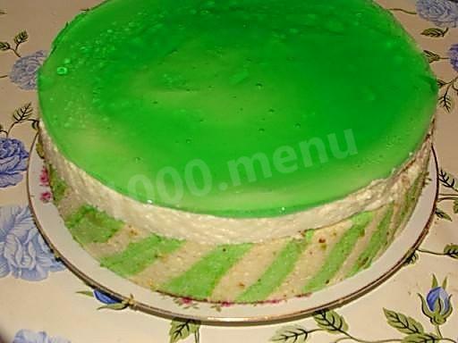 Как покрыть желатином торт