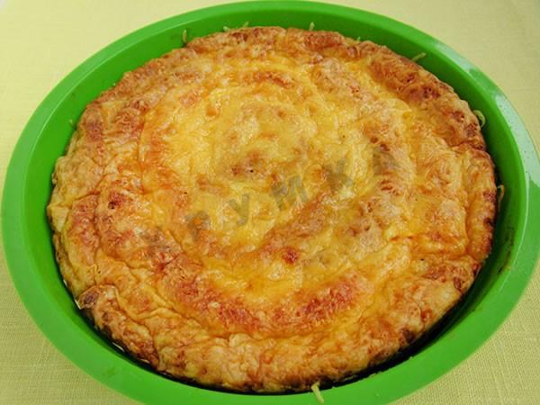 Киш с курицей и сыром рецепт пошагово 30