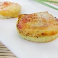 Закуска из запеченного лука с сыром
