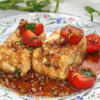 Жареный сыр тофу