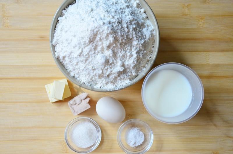 Мука вода дрожжи соль рецепт