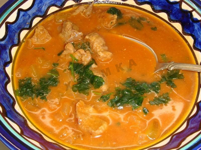 солянка по грузински не суп рецепт