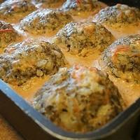 Тефтели с грибами запеченные в духовке