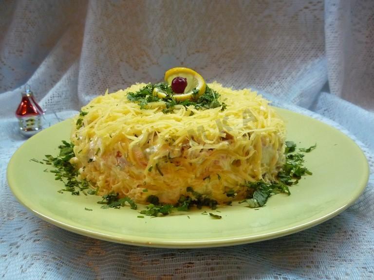 Салат белые ночи рецепт