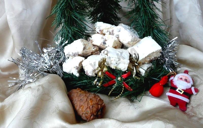 нуга в домашних условиях рецепт с фото пошагово