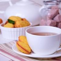 Кукурузное печенье с мятным ганашем