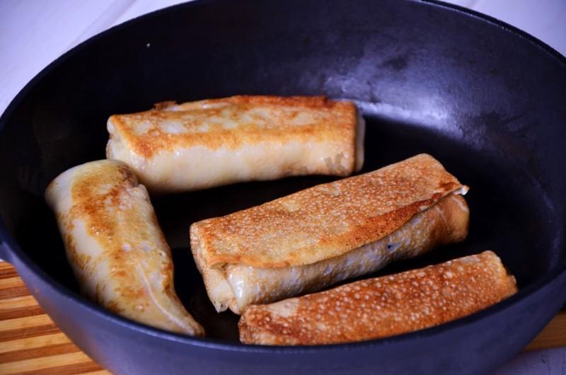 Блины яичные рецепт с начинкой