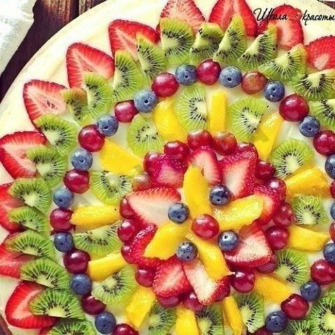 Салаты с фруктов рецепты с фото для детей